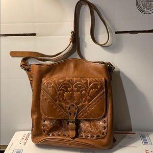 Patricia Nash Lavello Sling Bucket Bag